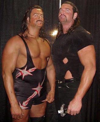 Brian Clark and Mike Awesome