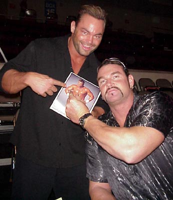 Brian Clark and Shawn Stasiak