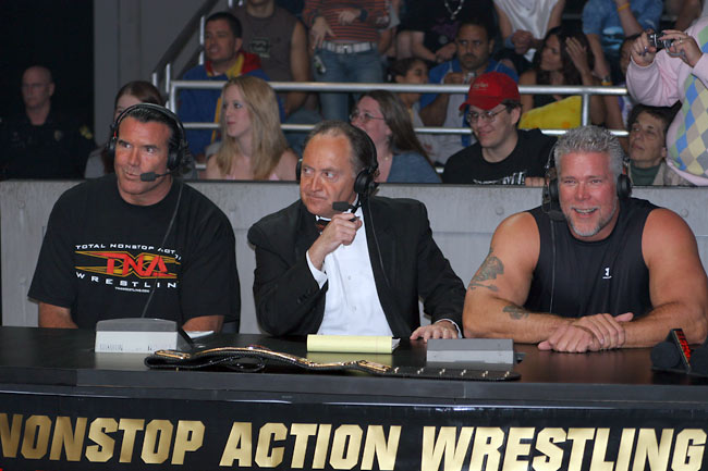 Scott Hall                     Mike Tenay                     Kevin Nash