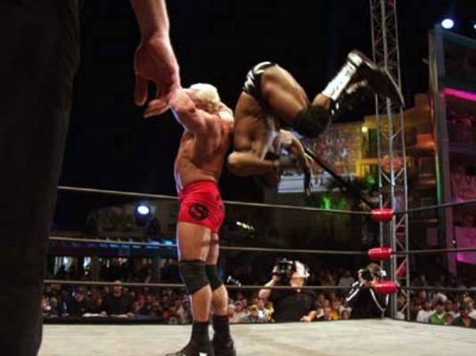 Booker vs Scott Steiner